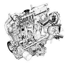 peugeot build and price peugeot 305 diesel engine by artist unknown cutaway line art