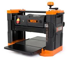 wen 6550 12 5 inch 15a benchtop thickness planer with granite