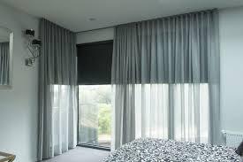 Designer Blackout Blinds Endearing Curtains Over Blinds And How To Hang Blackout Curtains