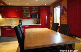 cuisine style montagne meuble de cuisine style montagne idées de design maison et idées