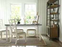 dining chairs white bistro style timber cross back dining