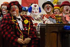 inside london u0027s annual clown themed church service mental floss
