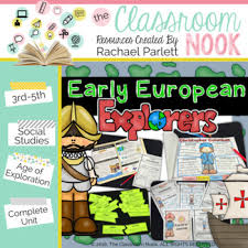 early european explorers the age of exploration social studies unit