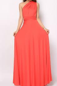 coral long infinity convertible bridesmaids dress lg 03 73 80