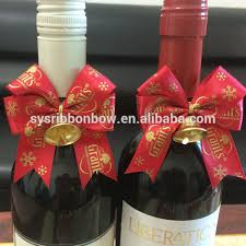 wine bottle bow bottle neck bows wine bottle bow tie decoration ribbon bow buy