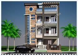house building designs 3 storey house plans indian and elevation design kp