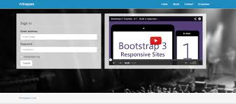 simple homepage using twitter bootstrap 3 0 wsnippets