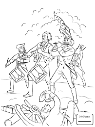 13 Colony Map Coloring Pages For Kids British Revolutionary War Soldier History