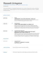 nanny resume samples visualcv resume samples database