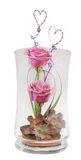 Long Vase Centerpieces by Single Rose In Vase Fresh Flowers Arrangements Pinterest
