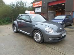 used volkswagen beetle used volkswagen beetle grey for sale motors co uk