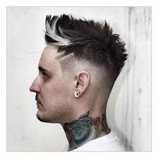 small haircut for men together with high fade with textured spikes