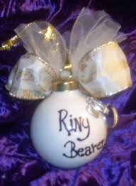 personalized christmas wedding ornaments