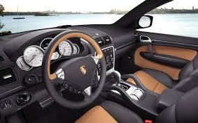 porsche cars interior porsche cayenne luxury crossover car wallpapers