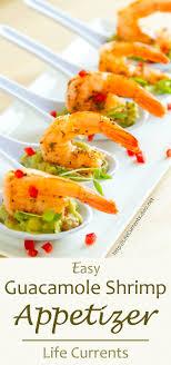 guacamole shrimp appetizer recipe currents