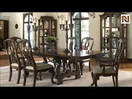 bernhardt dining room sets bernhardt artisan estate rectangular dining table 325 223 burnished