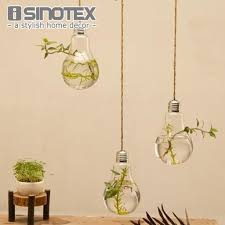 aliexpress com buy glass bulb lamp shape flower water plant