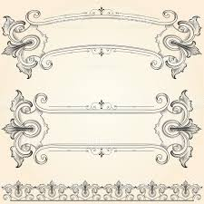 vintage ornamental banners stock vector 165797627 istock