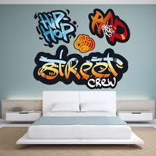 Bedroom Wall Graffiti Stickers Sticker Grafitti Wall