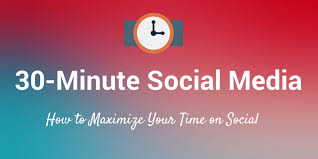what s the best use of your time on social media