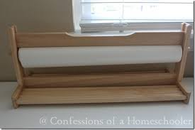 ikea paper roll our home school room 2012 2013 confessions of a homeschooler