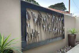 Sophisticated Metal Outdoor Wall Decor Items Similar To Metal Wall