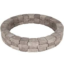 pavestone 66 in x 10 5 in rumblestone tree ring kit in greystone