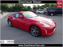 nissan 370z us news used 2013 nissan 370z for sale in wernersville pa serving