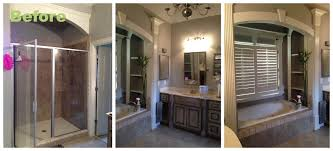 Bathroom Before And After Photos Before And After A Master Bathroom Renovation Atlanta Interior