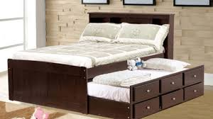 double trundle bed bedroom furniture double trundle bed brilliant beds arthauss furniture intended for 4
