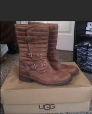 ugg womens tatum boots chestnut ugg australia s buckle us size 9 ebay