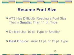 What Size Font For Resume Optimize Your Resume For Applicant Tracking Systems 2016