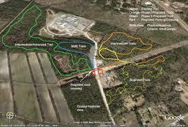 Uncw Map Sirbikesalot Com Blue Clay Trails Wilmington Nc