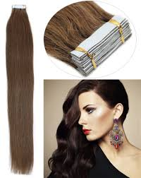 Sunkissed Brown Hair Extensions by Thickest Clip In Human Hair Extensions Cute Boy Brown Hair Green