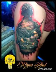 kabuki tattoo i made to a friend rhy tattoo worx pinterest