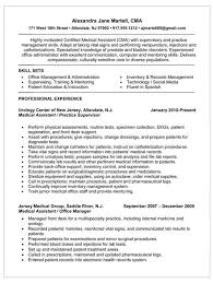 Skills And Abilities Sample Resume medical assistant resume sample with medical assistant sample