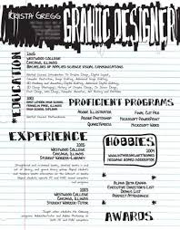 cool resume examples resume by krista gregg