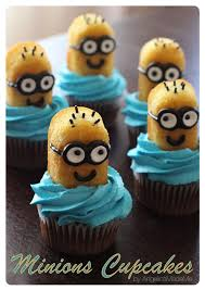 Buttercream Frosting For Decorating Cupcakes Minions Cupcakes Homemade Chocolate Cupcakes And Blue Tinted