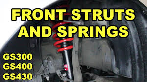 lexus ls430 lug nut torque 1998 2005 lexus gs front strut and spring replacement youtube