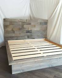 Gray Platform Bed Best 25 Diy Platform Bed Ideas On Pinterest Diy Bed Frame Diy