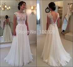 backless wedding dresses for sale aliexpress buy new bridal gown cap sleeve appliques
