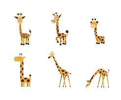 free cartoon girafe vector vector art u0026 graphics freevector com