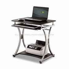 longsheng computer desks tempered glass desk with drawers for
