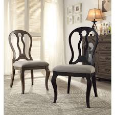 chair trudell rectangular dining set w upholstered chairs formal