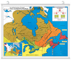 Map Of The North America by A Very Brief History Of The Police In British North America