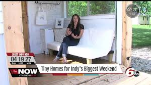 tiny houses are available for rent in central indiana youtube