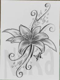 image result for drawings of flowers and hearts easy embosing