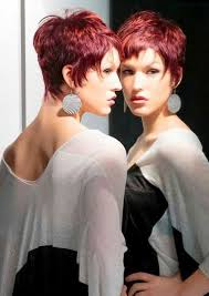 short razor hairstyles short layered razor cut hairstyles with bangs cool trendy
