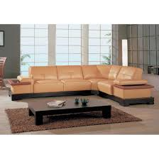 Modern Leather Sofa With Chaise by Sofas Center Leather Sofa Sectional 622ang Modern Red Italian