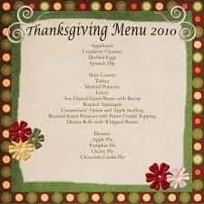 thanksgiving uncategorized thanksgiving menu template an easy